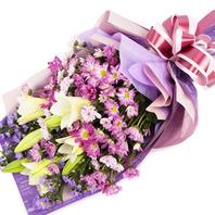 축하용 꽃다발