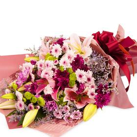 예쁜 꽃다발을 당신께~