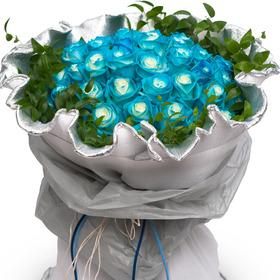 블루 블루 꽃다발