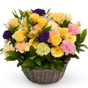 싱그러운 꽃들이 한가득
