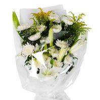 애도의 꽃다발
